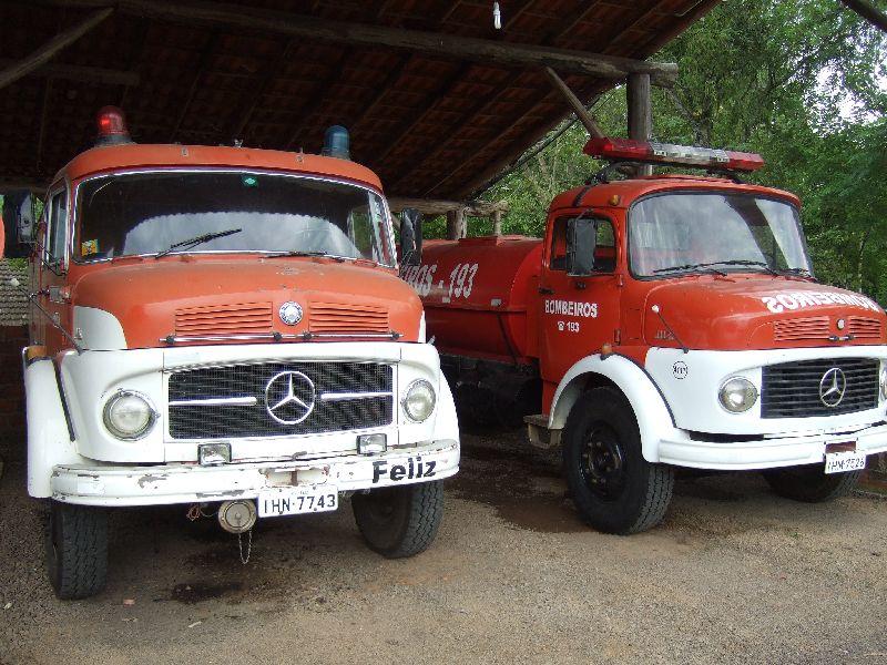 Feuerwehrautos in Felice