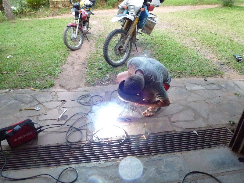 Motorradreparatur