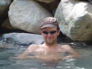 Bad in der heißen Therme