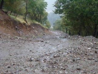 heftiger Regentag, 12km Tagesleistung