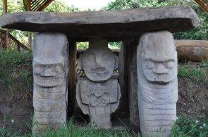 Steinskulpturen in San Agustín