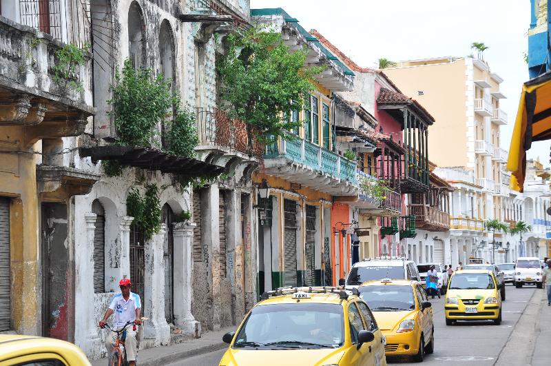 Starße in Cartagena