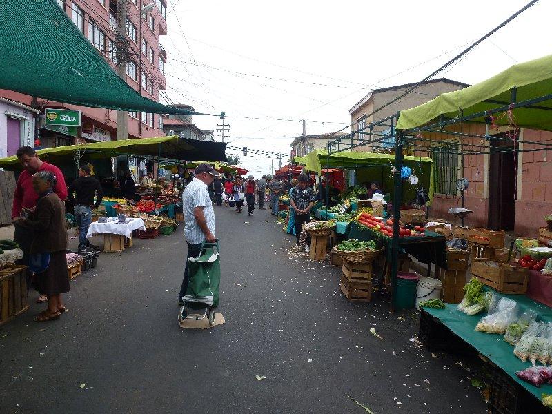 Markt - endlich schönes Gemüse