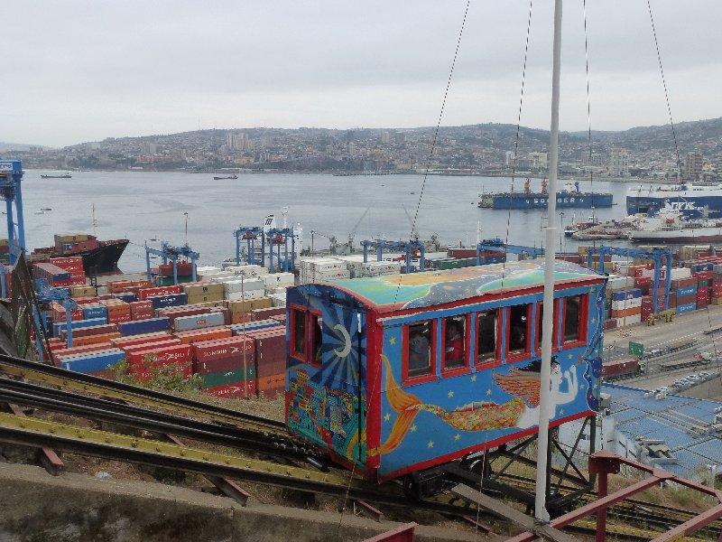 Aufzug vom Hafen
