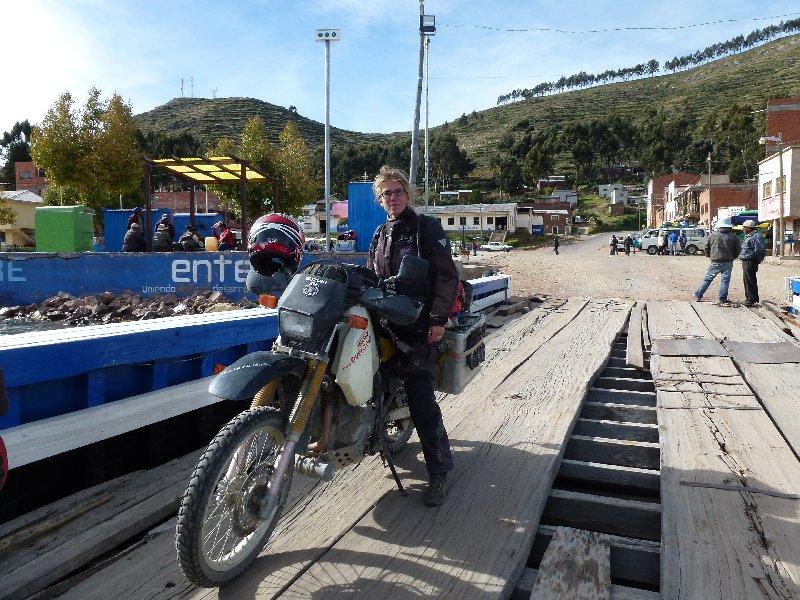Fähre am Titicacasee