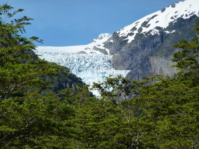 hängender Gletscher