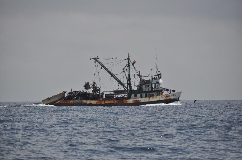 Fischerboot Ecuador