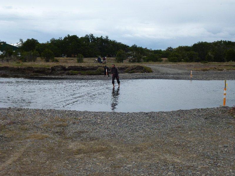 Flussdurchwatung