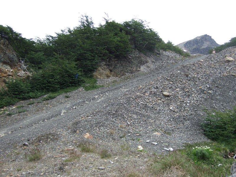 Auffahrt zu Pannys Geocache