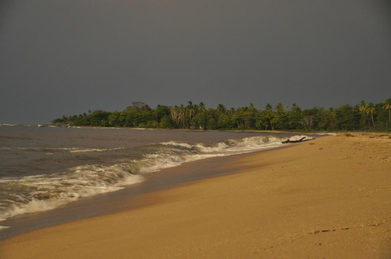 Kolumbianischer Strand
