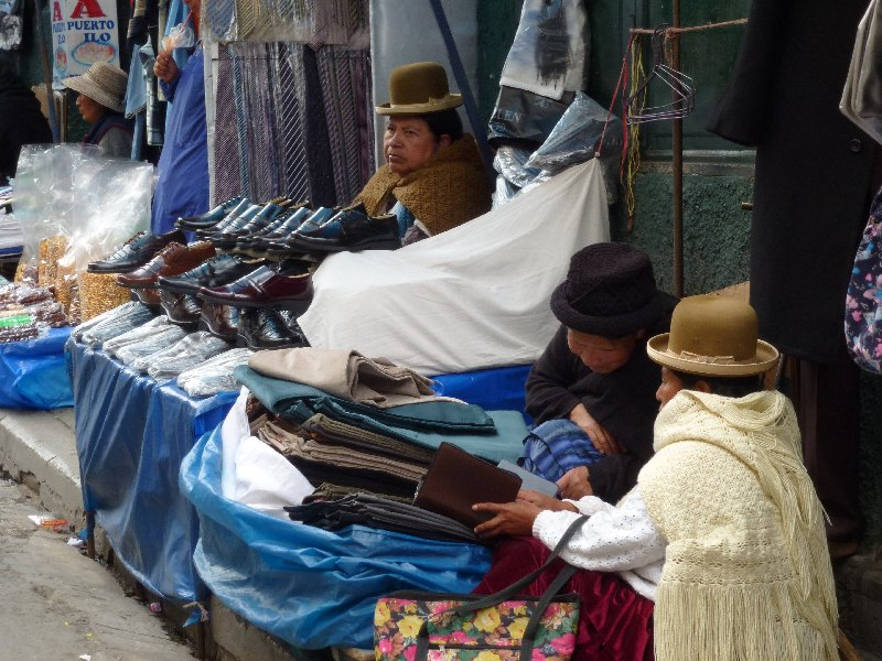 Marktstand in La Paz