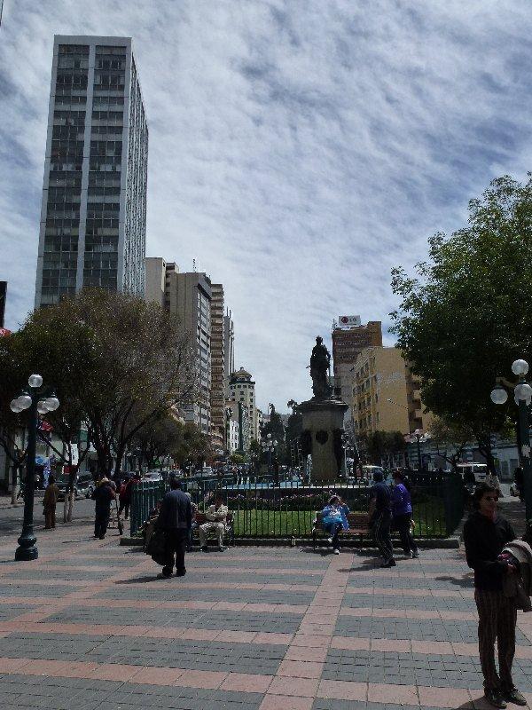 Hauptstrasse von La Paz