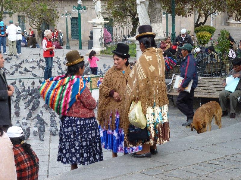 Bolivianische Frauen