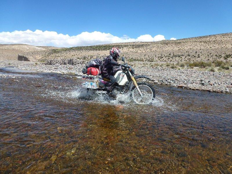 Wasserdurchfahrt