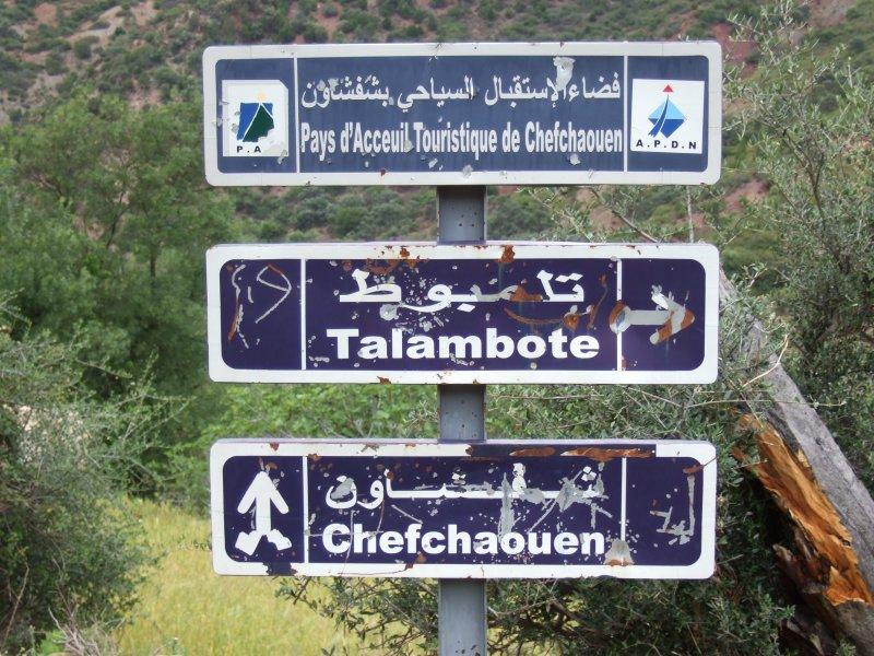 Marokkaniche Wegweiser
