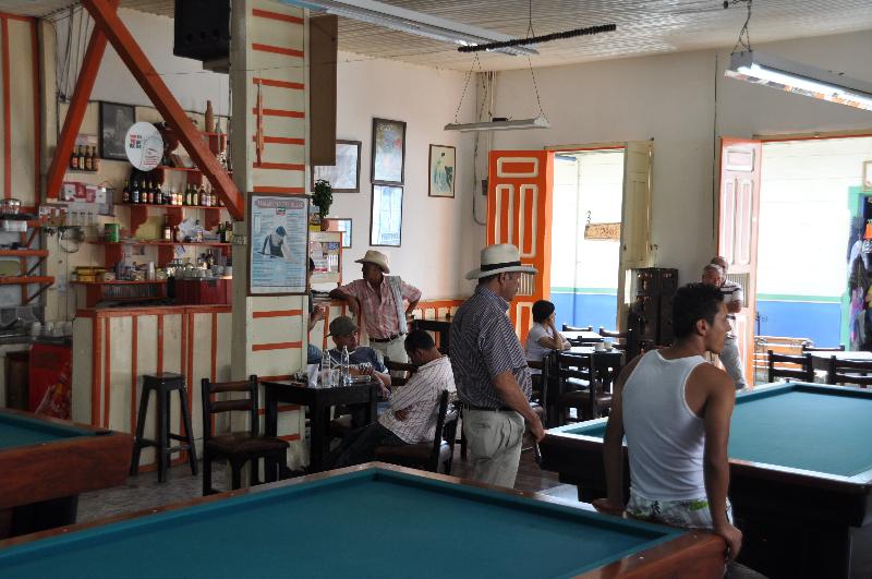 Cafe in Salento
