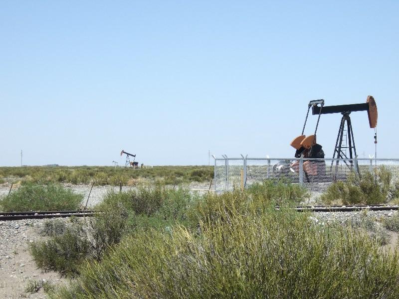 Ölpumpen in Argentinien