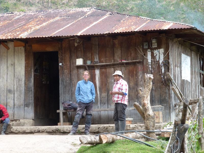 Bauer in Ecuador