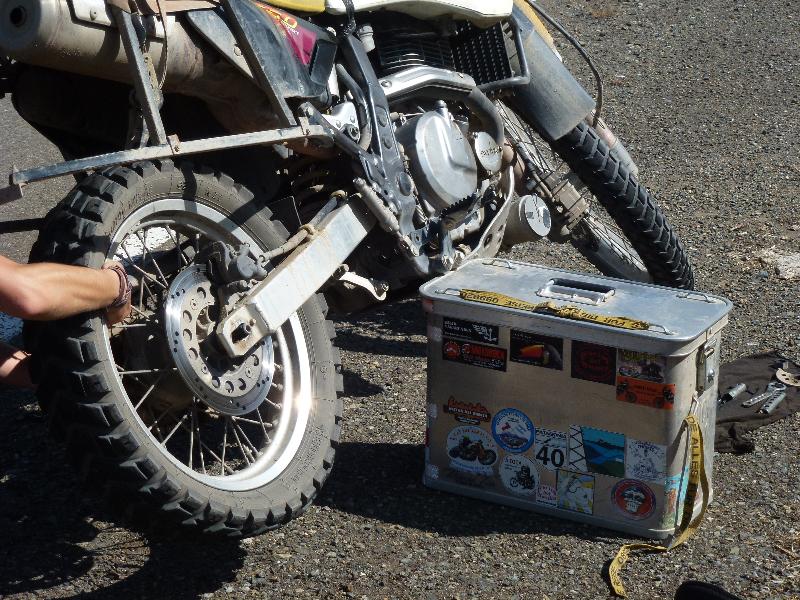 Reperaturständer Motorrad