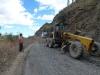 Straßenbauarbeiten Peru