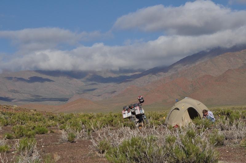Campen in der Puna