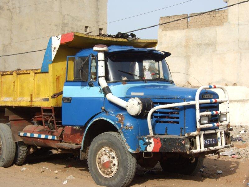 Truck in Dakar