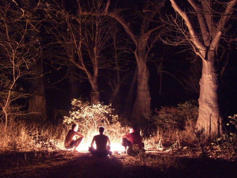 Heilig Abend im Baobabwald