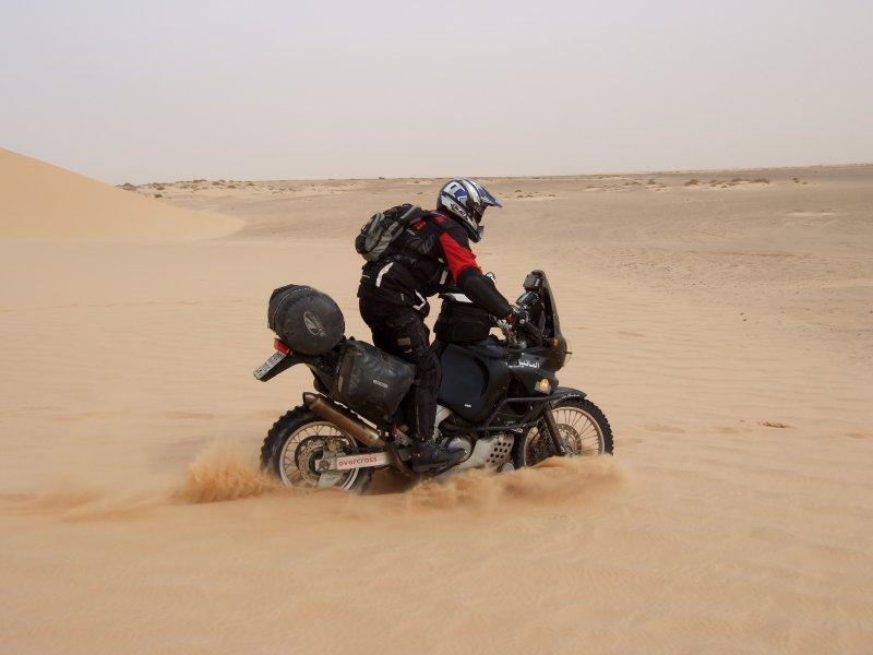 eingesunken im Sand