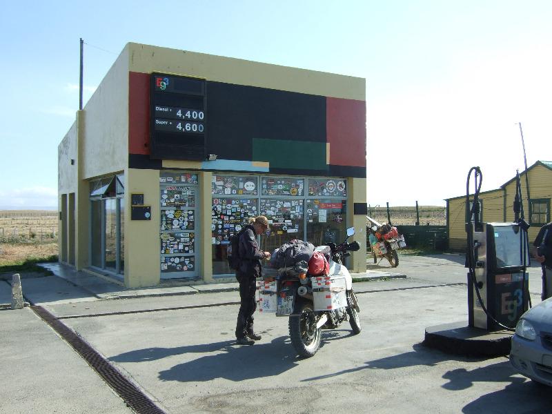 Tankstelle in Tapi Aike