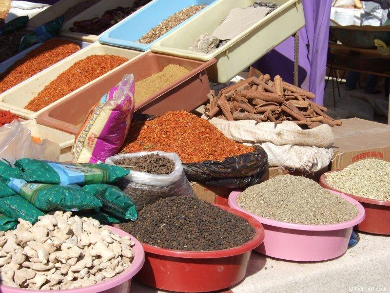 Gewürzstand in Tunesien