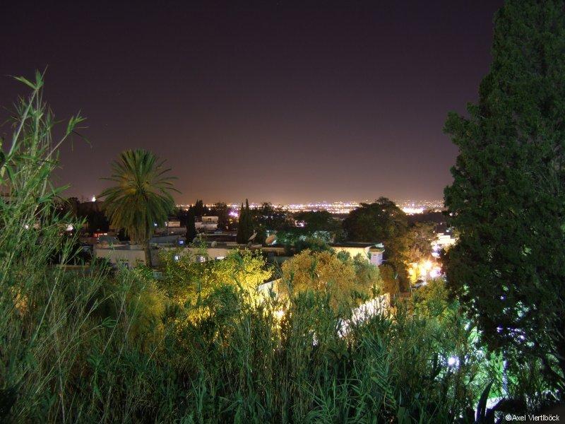 Blick auf Tunis