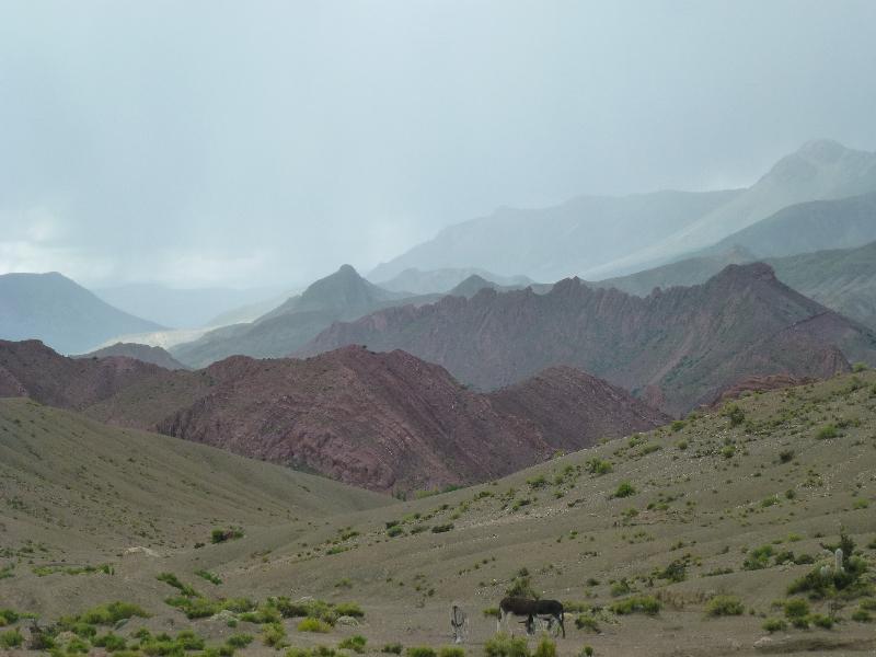 Berge in Bolivien