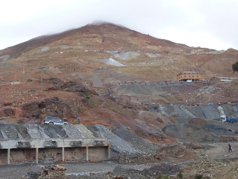 Cerro in Potosi