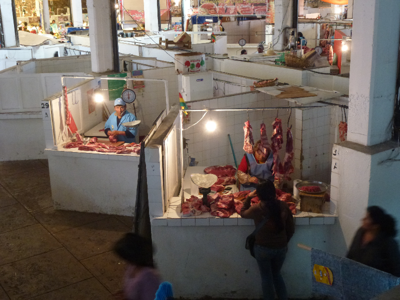 Markt in Sucre