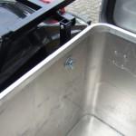 Motorrad Kofferträger selbst gebaut