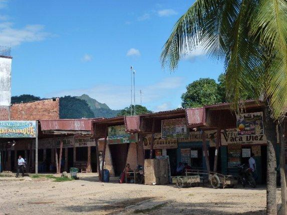 Busbahnhof in Rurrenabaque