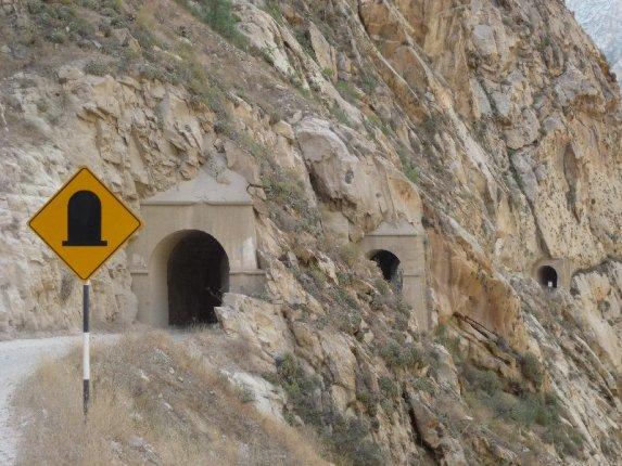 Tunells im Pato Canyon