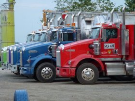 Truckstop in Kolumbien