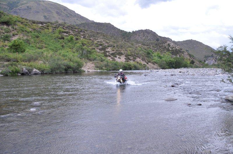 ganz schön lange Wasserdurchfahrt