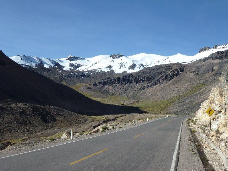 Gebirge Peru