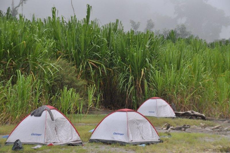 Zeltlager am Beni