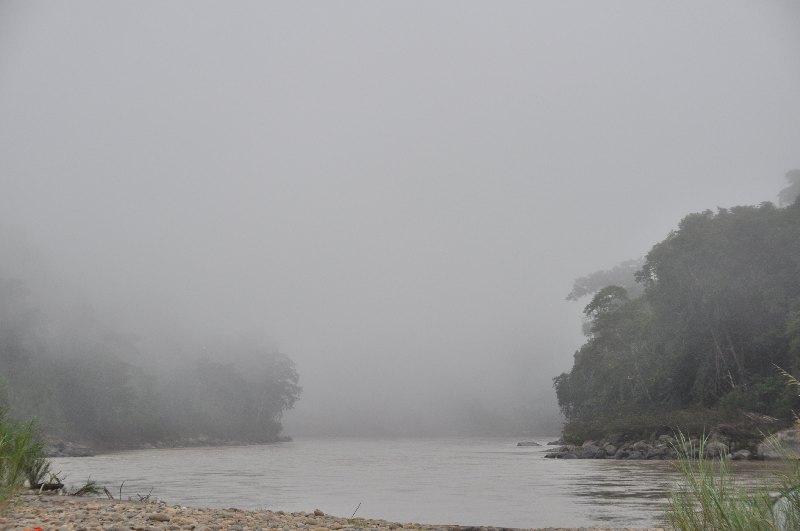 Morgennebel im Madidi Nationalpark