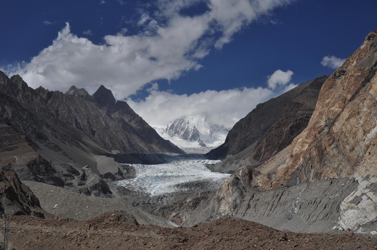 Passu Gletscher