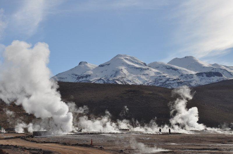 Geysiere auf dem Altiplano