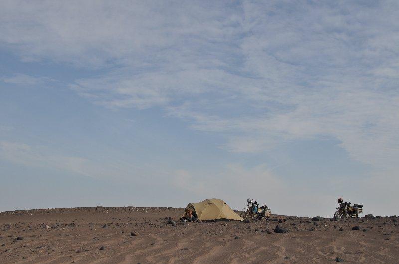 Wechesl Summit in der Wüste