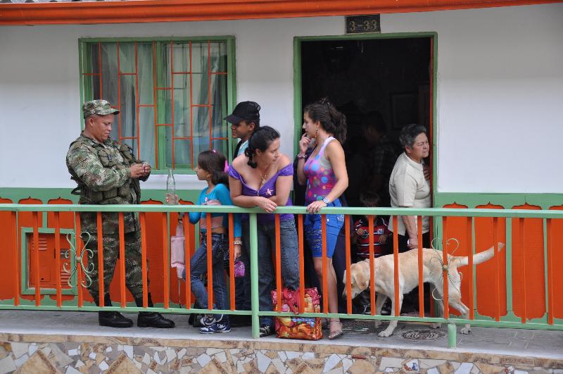 Soldaten in Kolumbien