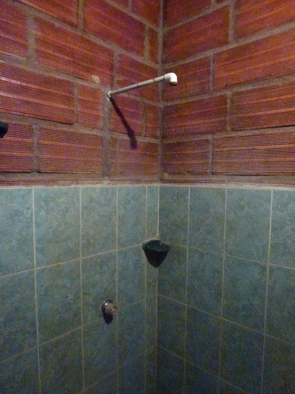 Dusche in Kolumbien
