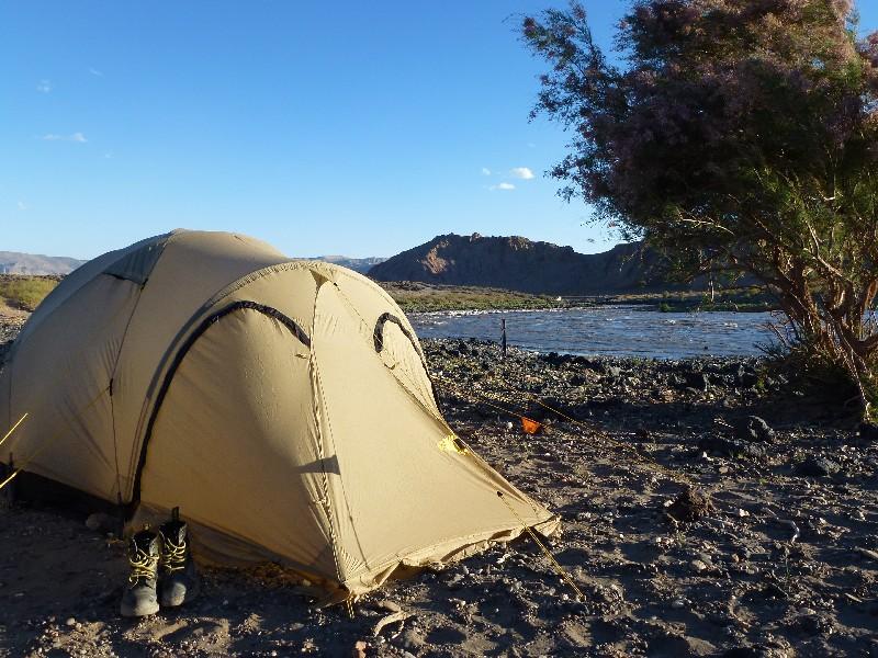 Camping am Rio Grande
