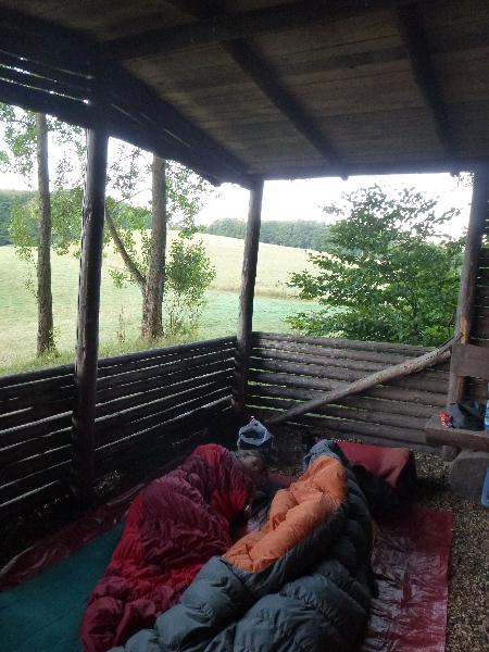 Schlafhütte