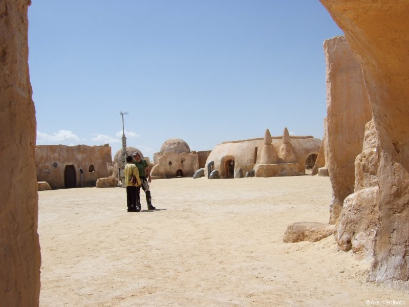 Star Wars Kulisse in Tunesien
